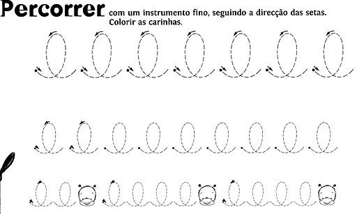 Fichas de grafomotricidad para imprimir 5 años - Imagui