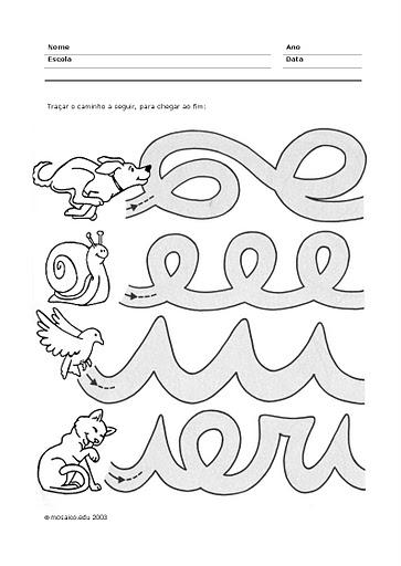 Grafismo un rinc n en casa for Actividades para jardin de infantes para imprimir