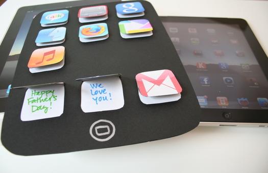 es un regalo del dia del padre divertido basado en el ipad