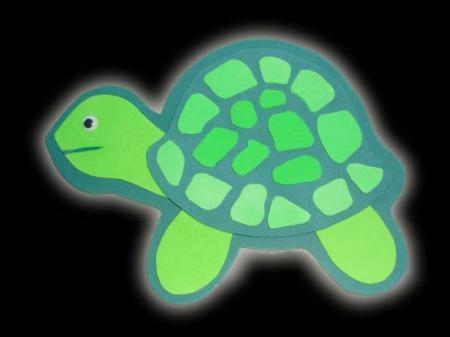 Como hacer tortugas de foami - Imagui
