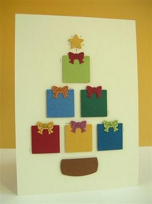 M s postales de navidad f ciles un rinc n en casa - Tarjeta de navidad para ninos manualidades ...