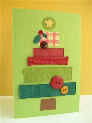 hacer postal de navidad