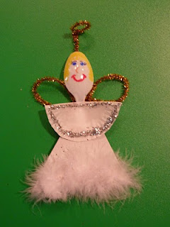 snowman and angel spoon 002