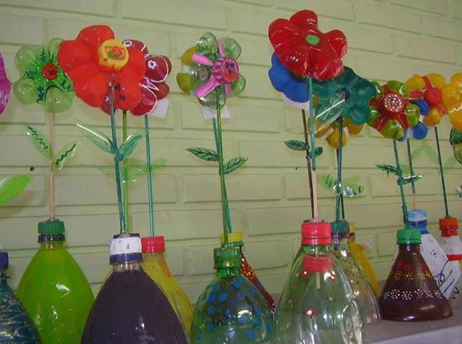 Jarrones Reciclados Fabulous Jarrones Reciclados With Jarrones