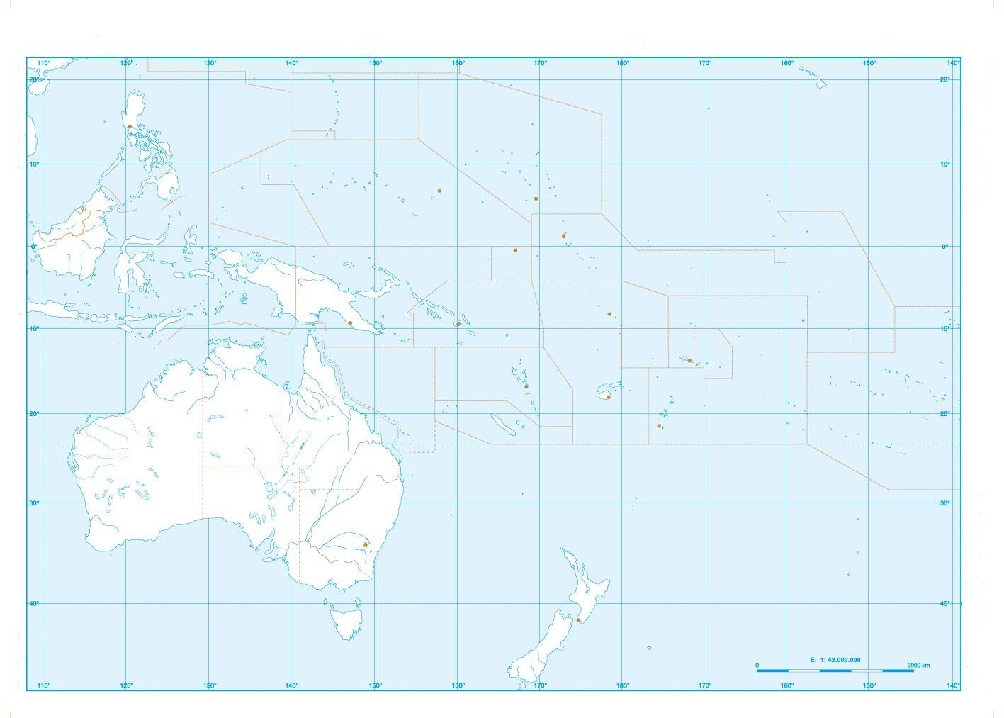 Mapas de Oceana  Un rincn en casa