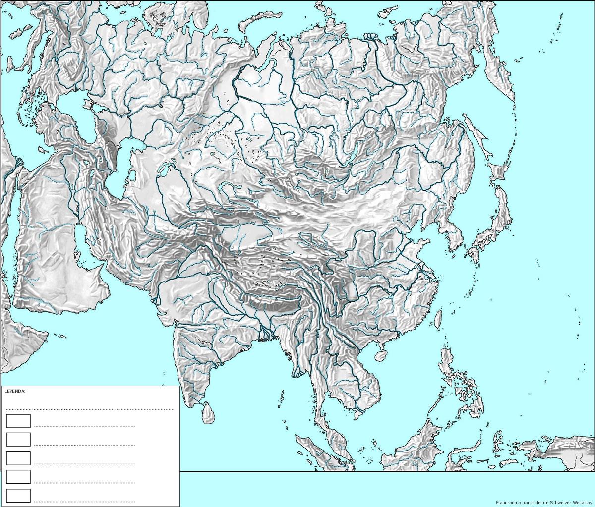 Mapas de Asia  Un rincn en casa