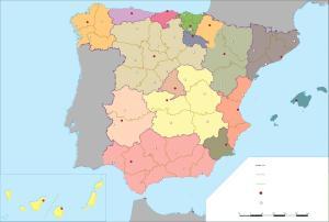 mapa-espana-politico-mudo+COLOR