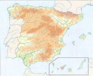 mapa+españa+mudo+fisico COLOR